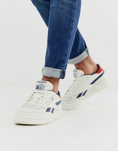 Stivali Bianco uomo Sneakers bianco rétro - Club C Revenge Mu - Reebok