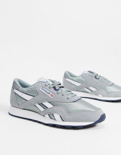 Sneackers Grigio uomo Sneakers classiche grigie in nylon - Reebok - Grigio