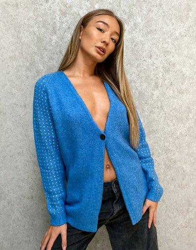 Blu donna Cardigan celeste - Replay - Blu