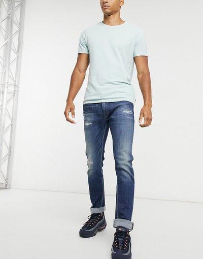 Jeans Blu uomo Jeans slim comodi blu - Replay - Rocco