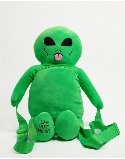 Portafoglio Verde donna Zaino peluche verde - Lord Alien - RIPNDIP