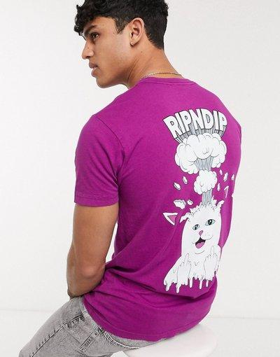 Mind Blown - shirt viola - RIPNDIP - T  uomo Viola