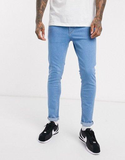Jeans Blu uomo Jeans skinny azzurro polvere - River Island - Blu
