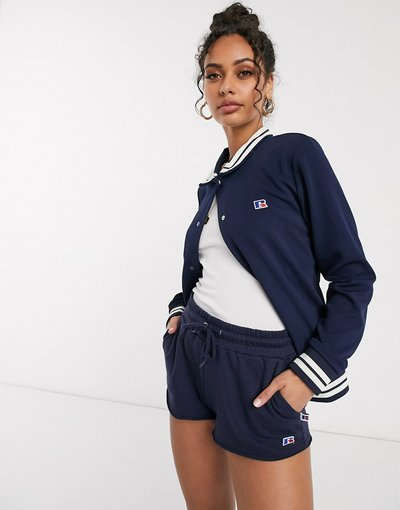 Navy donna Giacca sportiva blu navy - Russell Athletic - Archive