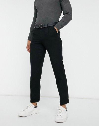 Nero uomo Pantaloni al polpaccio neri in coordinato - Tailored Studio - Selected Homme - Nero