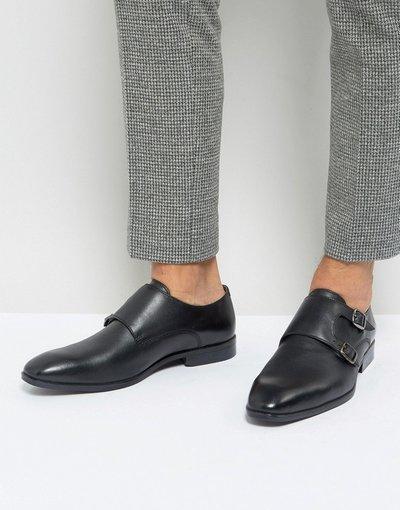 Sneackers Nero uomo Scarpe nere con fibbie - Silver Street - Nero
