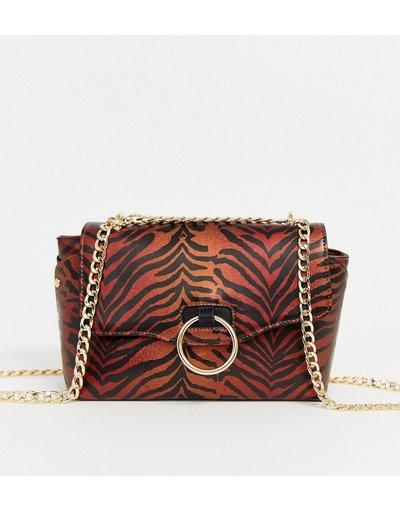 Borsa Multicolore donna Borsa da spalla con stampa tigrata - Multicolore - Skinnydip