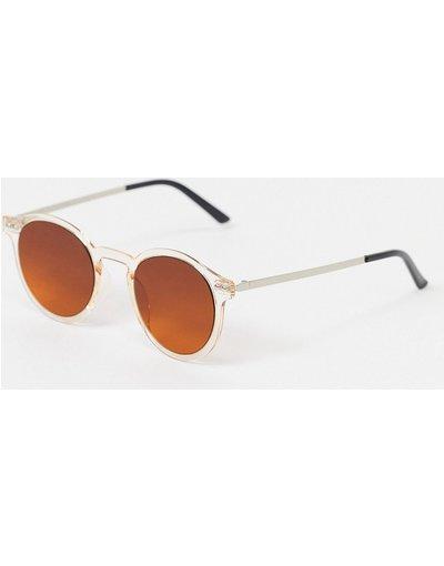 Occhiali Arancione uomo Occhiali da sole rotondi arancioni - British Summer - Spitfire - Arancione