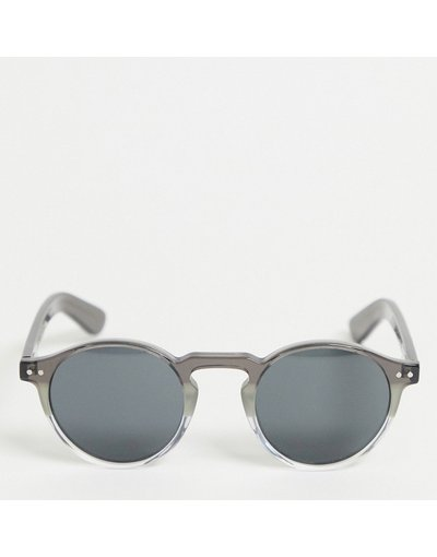 Occhiali Grigio uomo Occhiali da sole rotondi grigio sfumato - Cut Eight - Spitfire