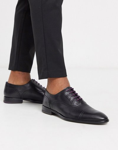 Scarpa elegante Nero uomo Sarpe nere con punta - Ted Baker - circass - Nero
