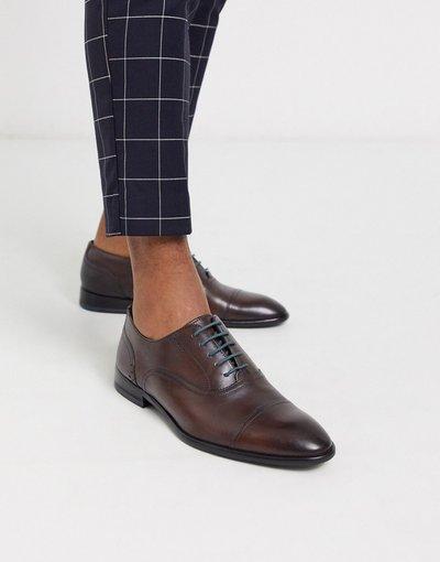 Scarpa elegante Marrone uomo Scarpe marroni con punta - Ted Baker - circass - Marrone