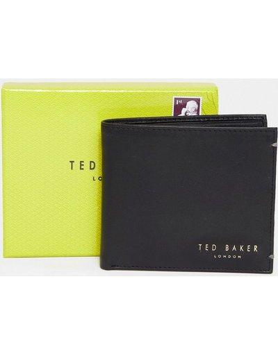 Portafoglio Nero uomo Portafoglio in pelle con portamonete - Ted Baker - Harvys - Nero
