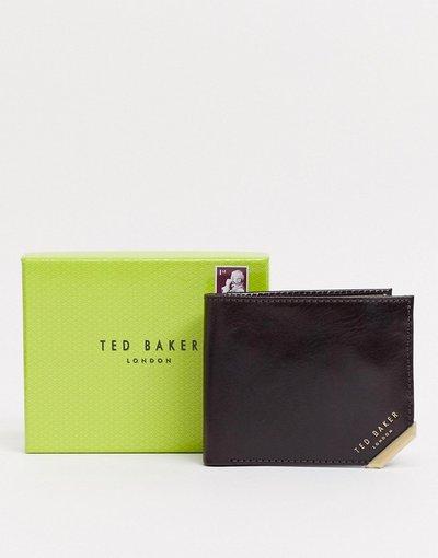 Portafoglio Marrone uomo Portacarte marrone - Ted Baker