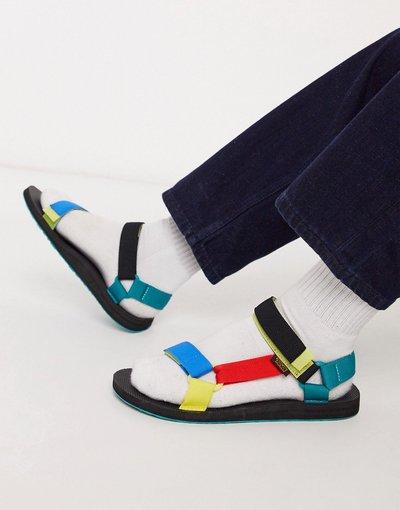 Sandali Multicolore uomo Sandali color block - Teva Original - Universal - Multicolore