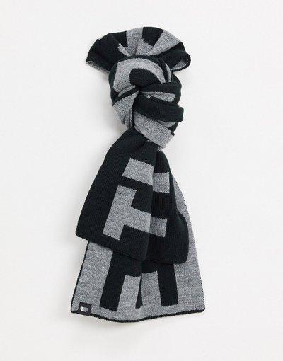 Grigio uomo Sciarpa grigia/nera con logo - The North Face - Grigio