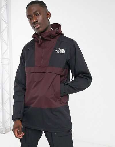 Marrone uomo The North Face - Anorak marrone - Silvani