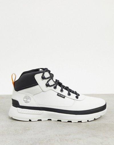 Sneackers Bianco uomo Scarponcini bianchi impermeabili - Timberland - Tectuff - Bianco