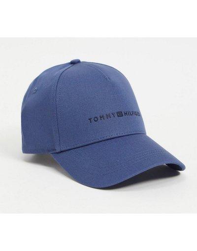 Cappello Blu uomo Cappellino con logo co nscritta, colore blu - Tommy Hilfiger - Uptown