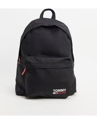Borsa Nero uomo Zaino in nylon nero con logo - Tommy Jeans