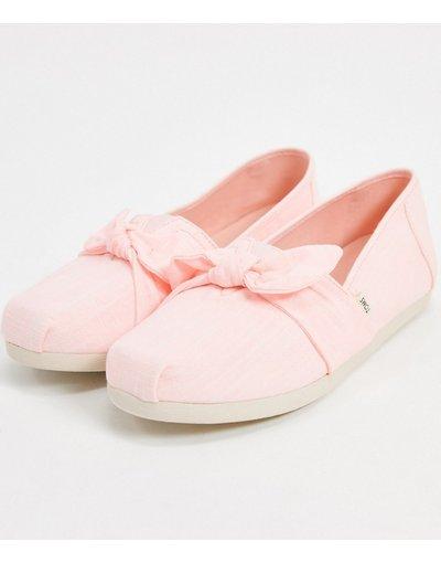 Scarpa bassa Rosa donna Scarpe di tela stile alparagata color vaniglia - Toms - Rosa