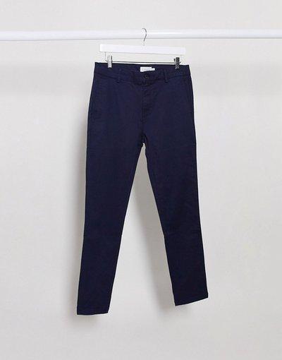 Pantalone Navy uomo Chino super skinny blu navy - Topman