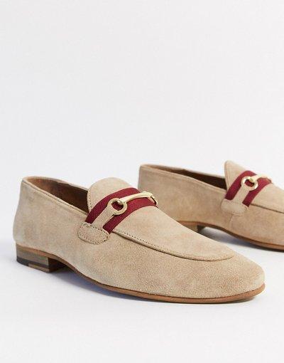 Scarpa elegante Pietra uomo Mocassino con morso grigio pietra - Topman