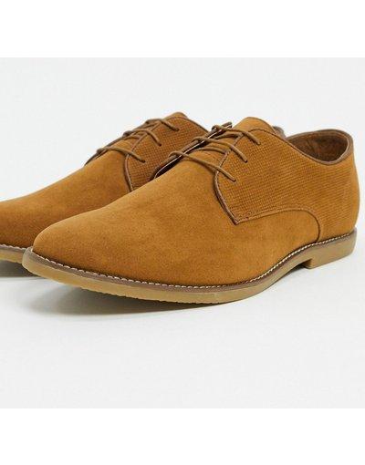 Scarpa elegante Cuoio uomo Scarpe stringate color cuoio - Topman
