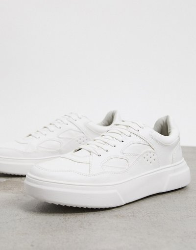 Stivali Bianco uomo Sneakers chunky bianche - Topman - Bianco