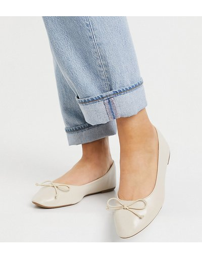 Scarpa bassa Beige donna Ballerine a pianta larga beige - Truffle Collection