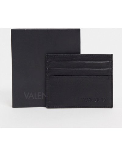 Portafoglio Nero uomo Valentino by Mario Valentino - Portacarte in pelle nero - Adrian