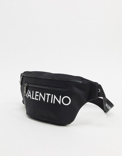 Borsa Nero uomo Marsupio con logo grande nero - Valentino by Mario Valentino - Kylo