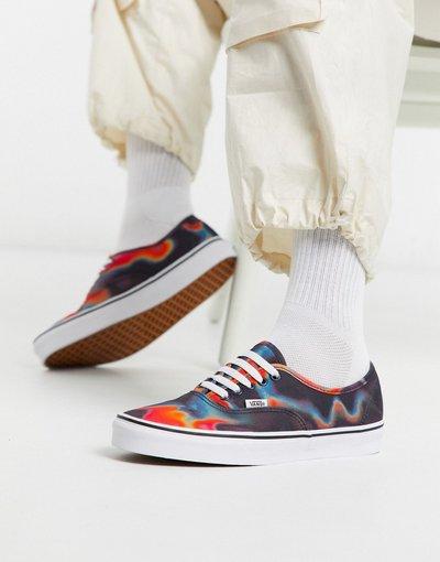 Stivali Multicolore uomo Vans Authentic - Sneakers multi - Dark Aura - Multicolore