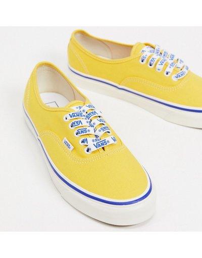 Sneackers Giallo uomo Scarpe di tela gialle - Vans Authentic - Giallo