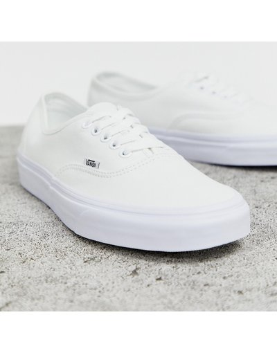 Sneackers Bianco uomo Sneakers bianche - Vans Authentic - Bianco