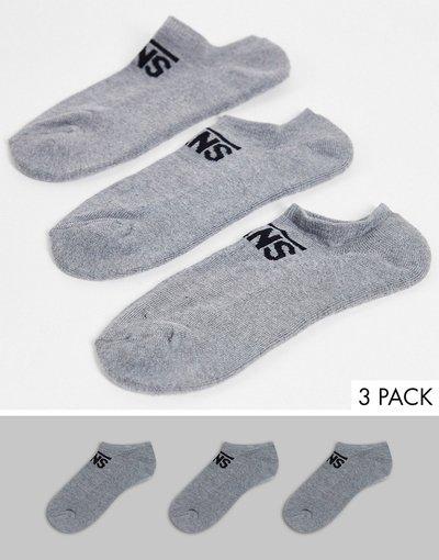 Intimo Grigio uomo Confezione da 3 paia di calzini grigi - Vans Classic - Kick - Grigio