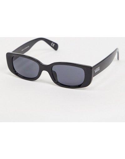 Occhiali Nero uomo Occhiali da sole squadrati neri - Vans - Nero