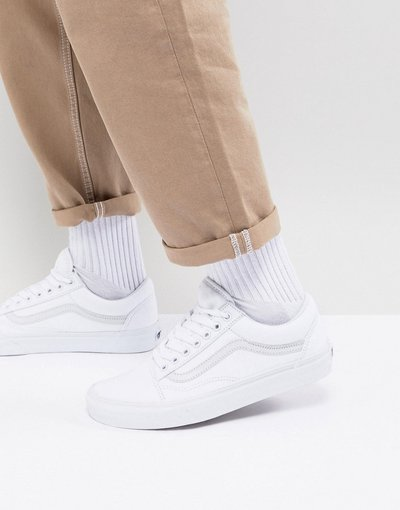 Stivali Bianco uomo Sneakers bianche - Old Skool - Bianco - Vans