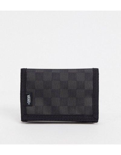 Portafoglio Nero uomo Portafoglio a scacchi nero/grigio - Slipped - Vans