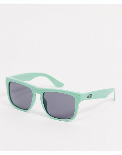 Occhiali Verde uomo Occhiali da sole verdi - Squared Off - Vans - Verde