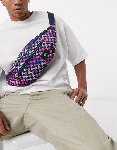 Borsa Multicolore uomo Borsa a tracolla a quadri tie - Multicolore - Ward - Vans - dye