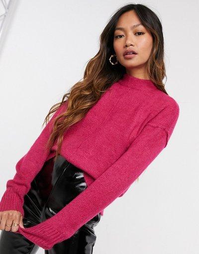 Rosa donna Maglione accollato rosa - Vero Moda