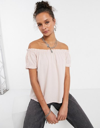 Camicia Rosa donna Top con spalle scoperte rosa - Vero Moda