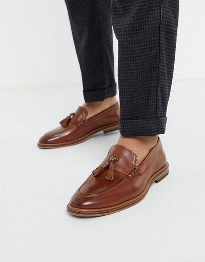 Scarpa elegante Cuoio uomo Mocassini con nappe in pelle cuoio - Walk London - West