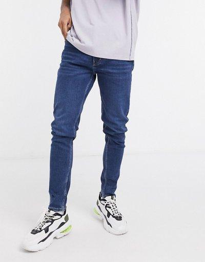 Jeans Blu uomo Jeans affusolati lavaggio blu Sway - Weekday - Cone
