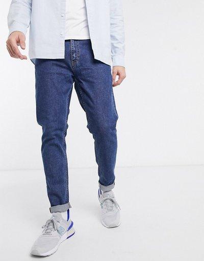 Jeans Blu uomo Jeans slim affusolati blu - Weekday - Cone