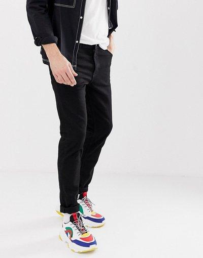 Jeans Nero uomo Jeans slim neri - Weekday - Friday - Nero