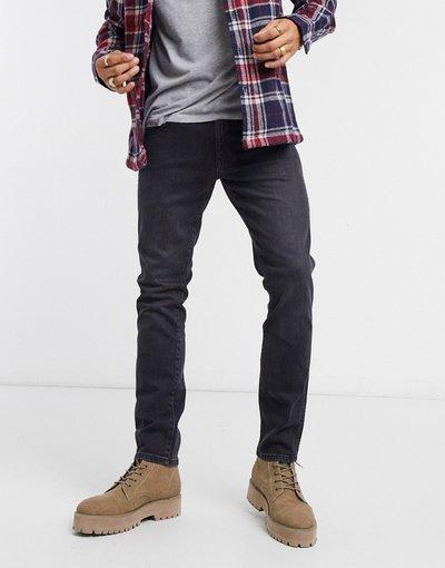 Jeans Nero uomo Jeans slim - Wrangler - Larston - Nero