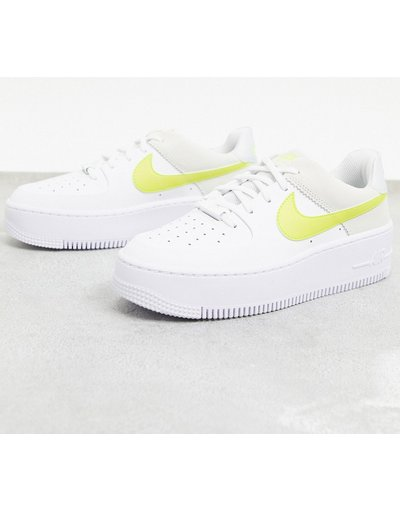 nike air force 1 bianche e gialle