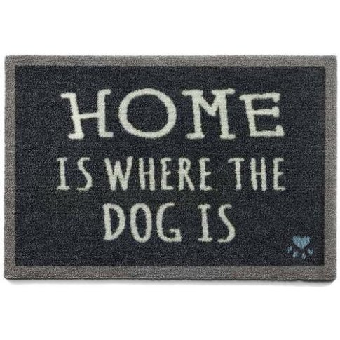 Home Is Where The Dog Is Door Mat - Howler and Scratch