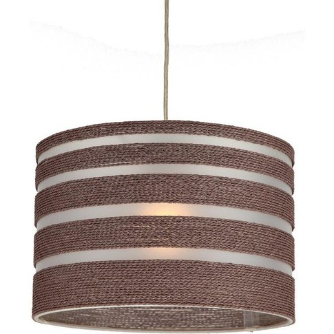 Perugia Rope And Pvc Easy Fit Light Shade